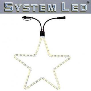 System LED Lichtschlauch Stern Extra 55cm warmweiss 465-76