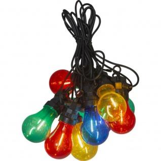 LED Party Lichterkette Circus Filament 10er bunt 4m Best Season 476-77