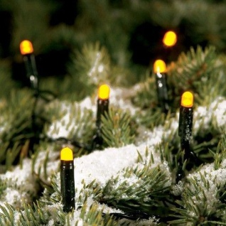 LED Lichterkette 3, 51m 40er gelb außen Konstsmide 3060-000 xmas