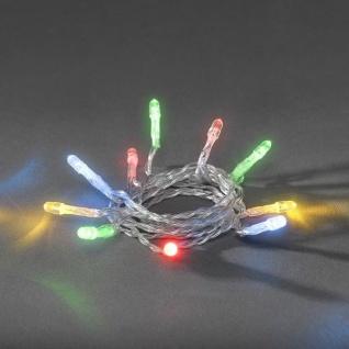 LED Lichterkette 20er bunt Batterie innen Konstsmide 1408-503 xmas