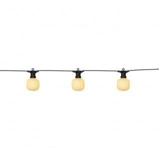 LED Party Lichterkette Maxi Circus 10er warmweiß 5m IP44 Best Season 476-73