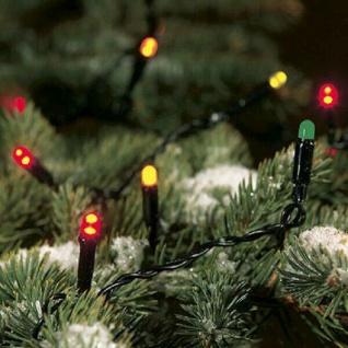 LED Lichterkette 8, 9m 100er bunt Konstsmide außen 3052-500 xmas