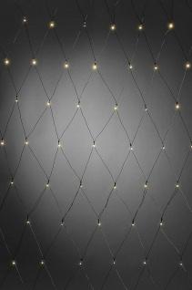 LED Lichternetz 80er 6/9h Timer Lichtsensor innen 2, 2m IP44 Konstsmide 3727-100