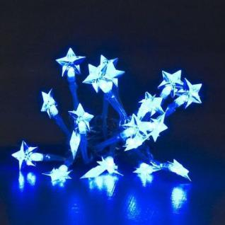 led lichterkette 20er sterne blau batteriebetrieb konstsmide 1263 403 kaufen bei wedis homeshop. Black Bedroom Furniture Sets. Home Design Ideas