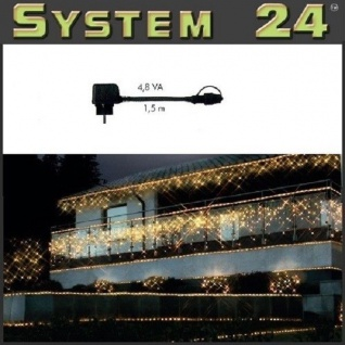System 24 LED Trafo 4, 8 VA - Start Max. 350 Dioden 490-02 außen xmas