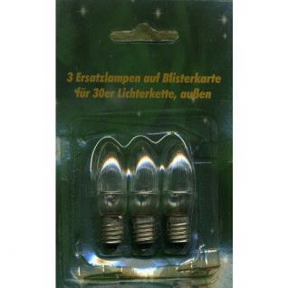 Ersatzlampen 3er 8V/1, 5W für 30er Aussenlichterkette XA11962