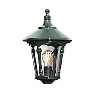 Alu Leuchtenkopf, grün mit Acrylglas Virgo Konstsmide 578-600