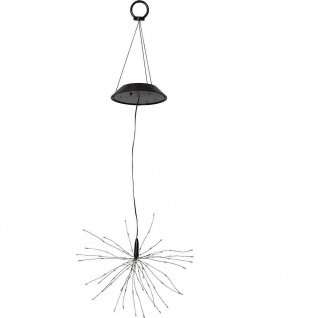 "LED Solar-"" Firework Solar"" hängend 90 bunte LEd 26x50cm Best Season 481-87"