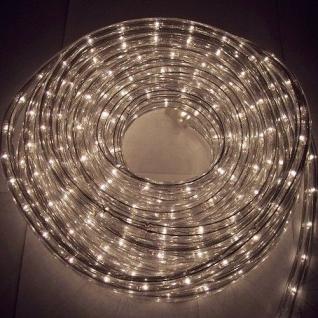 Lichtschlauch Lichterschlauch 20m weiß klar BA11674