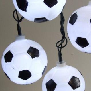 LED Fußball Party-Lichterkette 20er 4, 75m außen FHS 08598