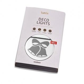 Lumix Deco Lights Glocken Acryl 10x10cm Krinner 76101