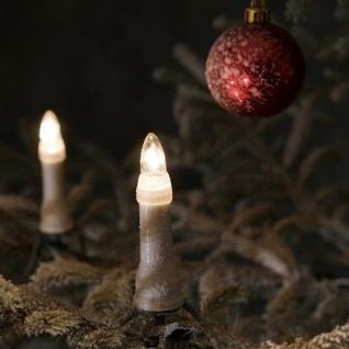 Weihnachtsbaumbeleuchtung 25er außen ein Strang 16, 8m 1191-000