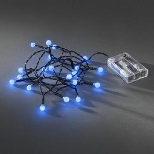LED Globe-Lichterkette 20er Batterie Timer innen blau 1491-407 xmas