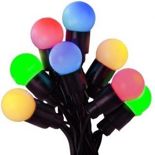 LED Party-Lichterkette 40er grün-gelb-rot-blau Best Season 472-00