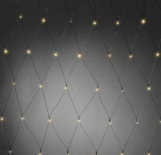 LED Lichternetz 240er warmweiß 3x2m Batterie IP44 Konstsmide 3725-100