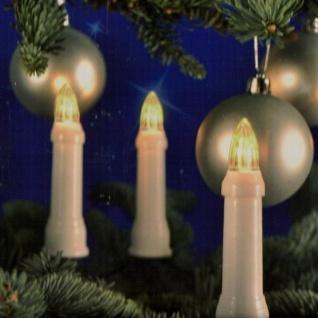 LED Weihnachtsbaumbeleuchtung 30er außen warmweiß 11, 6m Lichterkette 76610