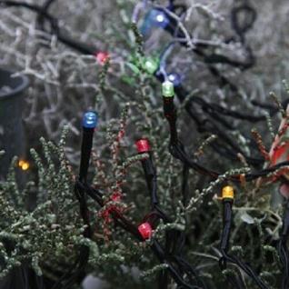 LED Lichterkette 40er 4m multicolor / schwarz Best Season 498-11