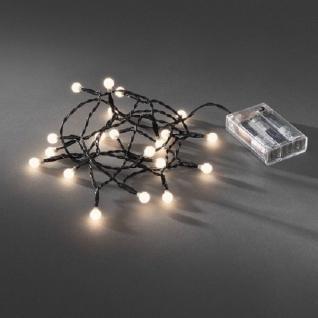 LED Globe-Lichterkette 20er Batterie Timer innen warmweiß 1491-107 xmas