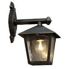 Eco-Light Wandlaterne 1-flammig London 1582BG E27 24, 2x31, 5x18, 4cm