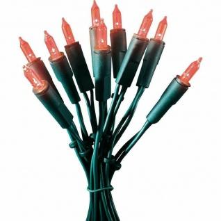LED Mini-Lichterkette 35er rot Kabel grün 5, 10m Konstsmide 6302-550 xmas