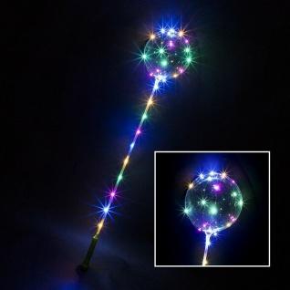 Bobo Ballons mit Lichterkette multicolor 3 Funktionen Party Geburtstag 56098