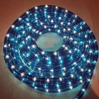 Lichtschlauch Lichterschlauch 20m blau außen BA11673 xmas
