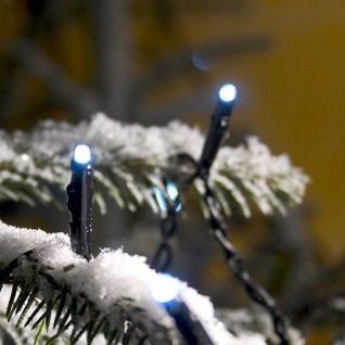 Micro LED Lichterkette 24er kaltweiß 11, 5m Blitzeffekt außen Konstsmide 3621-140