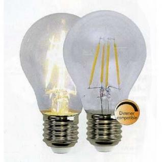 Illumination LED Leuchtmittel Filament E27 230V 400lm 4W 2700K dimmbar 352-24
