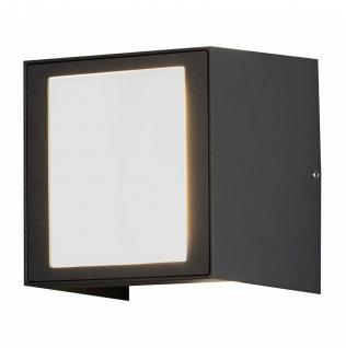 Alu LED High Power Wandleuchte CREMONA, anthrazit Konstsmide 7946-370