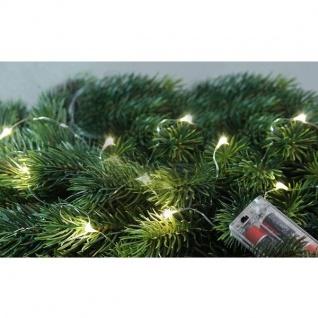 LED-Draht Lichterkette 10er warmweiß 1m Batteriebetrieb FHS 22150 Star Max