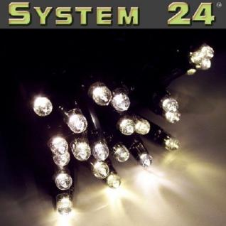 System 24 LED Lichterkette 5m 49er start inkl. Trafo warmweiß 492-00 außen xmas