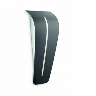 Aussenwandleuchte ORLY schwarz E27 inkl. 37x10x14cm Massive 17201/93/10