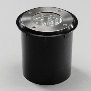 LED Bodeneinbaustrahler Basis Set 2er Spots ein Trafo 12V Konstsmide 7601-000