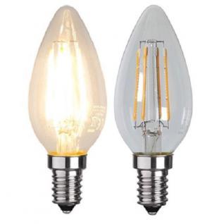 Illumination LED Filament E14 230V 320lm 4W 2700K 352-02 Glühbirne Leuchtmittel