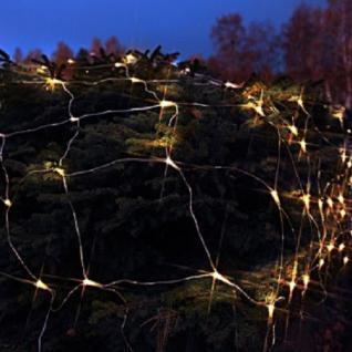 LED Lichternetz 2x1m 90er warmweiß / transparent Best Season 499-66