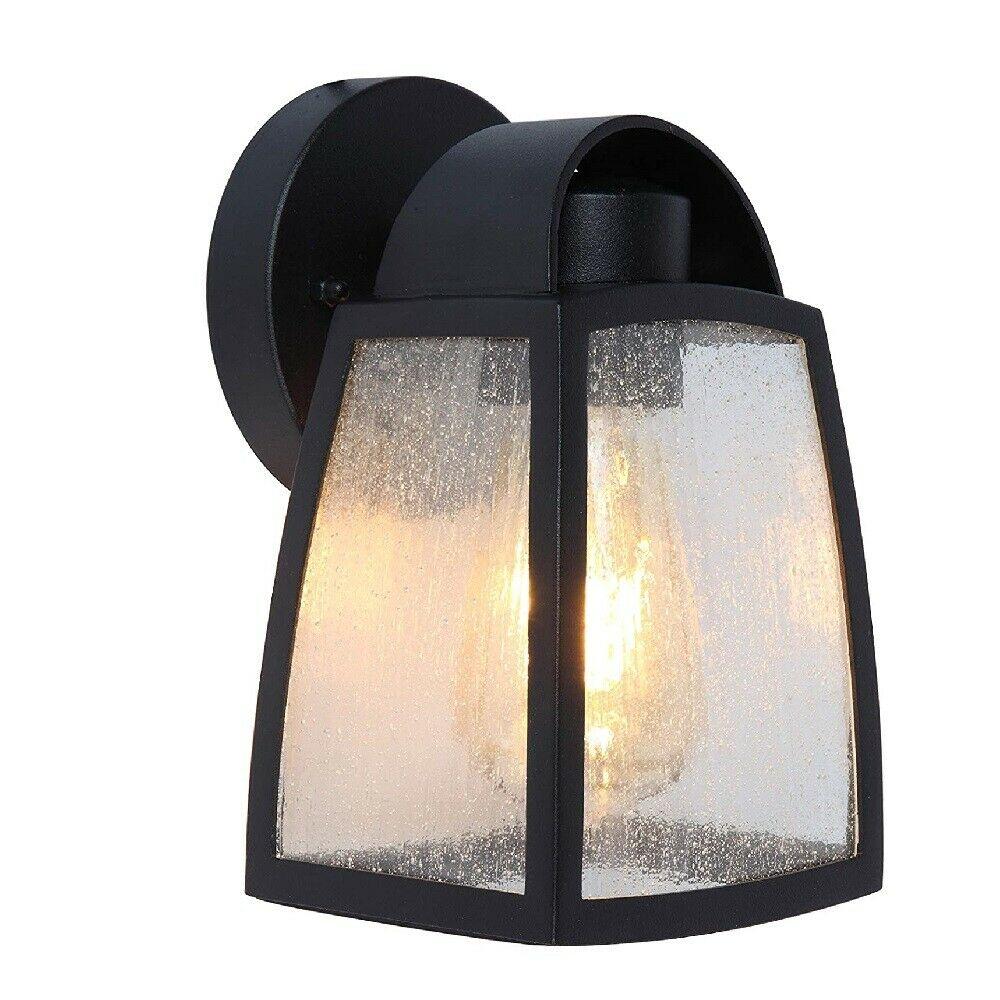 LED Edelstahl Außenwandleuchte SALZBURG E27 Lutec ST021 Eco-Light