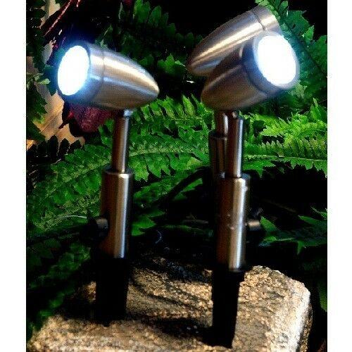 LED Edelstahl Gartenstrahler Garten-Spot 3er 27 LEDs Blachere JPR01 JPR01 JPR01 8f2bcf