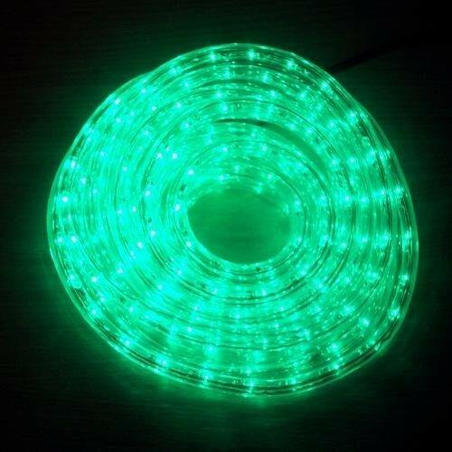 LED Lichtschlauch Lichterschlauch Superflex 6m grün 13mm 13mm 13mm 556-03 außen xmas 7c1e01