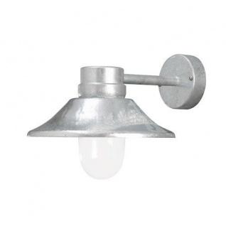 LED High Power Wandleuchte VEGA Stahl außen mit klarem Glas 412-320