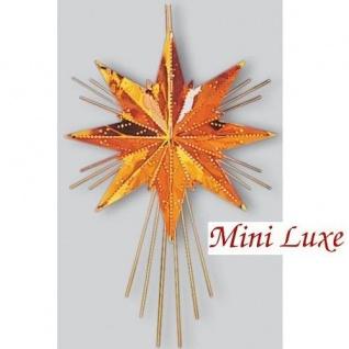 Weihnachtsstern Messingstern Mini Luxe Kupfer 37x25 Best Season 797-10