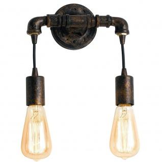 Luce Ambiente I-AMARCORD-AP2, 60 W, rost, 22, 5 x 27, 5 x14cm