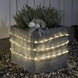 LED Lichtschlauch 6m warmweiß Batterie / Timer Konstsmide 3744-100 xmas