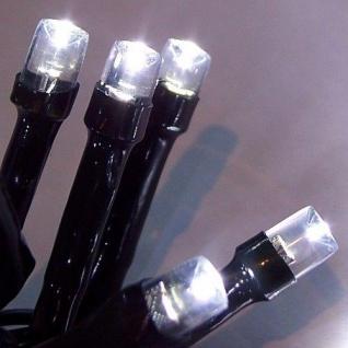 LED Lichterkette 200er kaltweiß Kabel grün 20m aussen BA11698 xmas