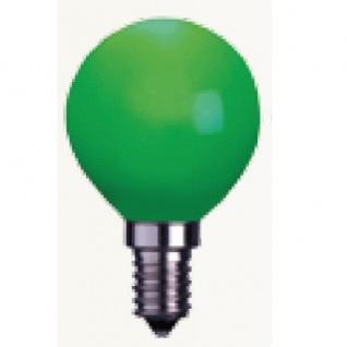 Decoration LED Glühbirne Leuchtmittel E14 230V grün 336-43