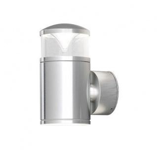 Alu Wandleuchte GX53 mit Glas Monza außen Konstsmide 7905-310