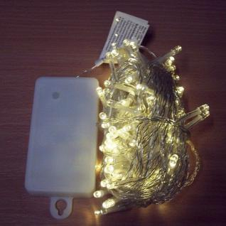 100er LED Lichterkette 9, 9m warmweiß Batterie / Timer außen BA11467 xmas