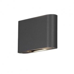 LED High Power Alu Wandleuchte CHIERI verstellbar anthrazit IP54 7854-370