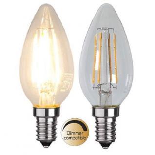 Illumination LED Filament E14 230V 400lm 3, 2W 2700K dimmbar 352-03 Glühbirne