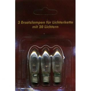 Ersatzlampen 3er 48V/3W für 5er Lichterbogen innen XI11957