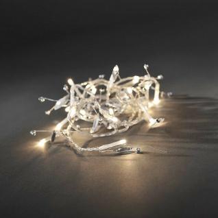 LED Deko Lichterkette Glasperlen 20er warmweiß innen 1, 8m Konstsmide 3180-103
